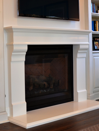 Abel Fireplace Mantel by Precast Innovations, Inc.