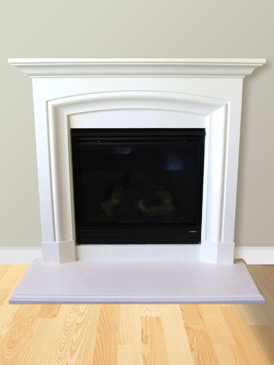 Abigail Fireplace Mantel by Precast Innovations, Inc.
