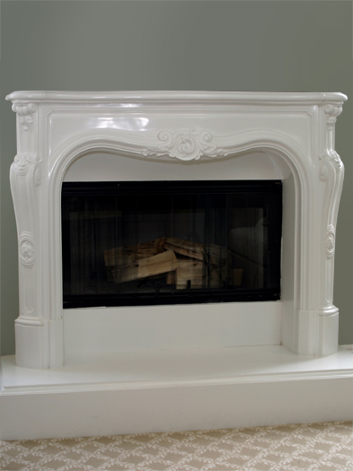Catalina Fireplace Mantel by Precast Innovations, Inc.