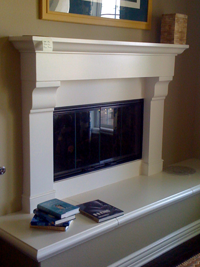 Valentino Fireplace Mantel by Precast Innovations, Inc.