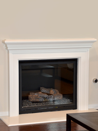 Westin Fireplace Mantel by Precast Innovations, Inc.
