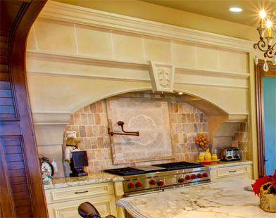 Florentine Kitchen Hood by Precast Innovations, Inc.
